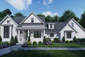 Farmhouse Exterior - Front Elevation Plan #120-262