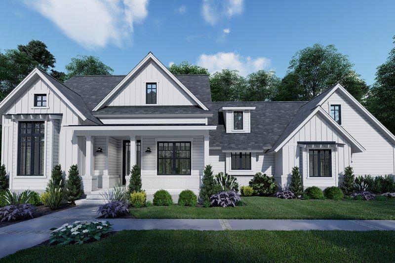 House Design - Farmhouse Exterior - Front Elevation Plan #120-262