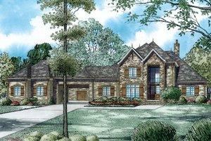 Dream House Plan - European Exterior - Other Elevation Plan #17-2489