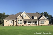Architectural House Design - Ranch Exterior - Front Elevation Plan #929-1019