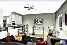 Cottage Interior - Family Room Plan #44-175
