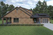 Craftsman Style House Plan - 3 Beds 2.5 Baths 2476 Sq/Ft Plan #1070-105 Exterior - Other Elevation