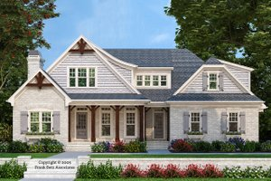 Traditional Exterior - Front Elevation Plan #927-6