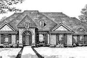 European Style House Plan - 4 Beds 2.5 Baths 2310 Sq/Ft Plan #310-248 Exterior - Front Elevation