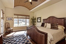 Architectural House Design - Mediterranean Interior - Master Bedroom Plan #80-221