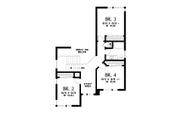 Contemporary Style House Plan - 5 Beds 3.5 Baths 3261 Sq/Ft Plan #48-1013 Floor Plan - Upper Floor