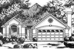 House Plan Design - European Exterior - Front Elevation Plan #40-362