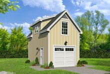 Dream House Plan - Country Exterior - Front Elevation Plan #932-215