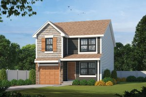 House Blueprint - Traditional Exterior - Front Elevation Plan #20-2456