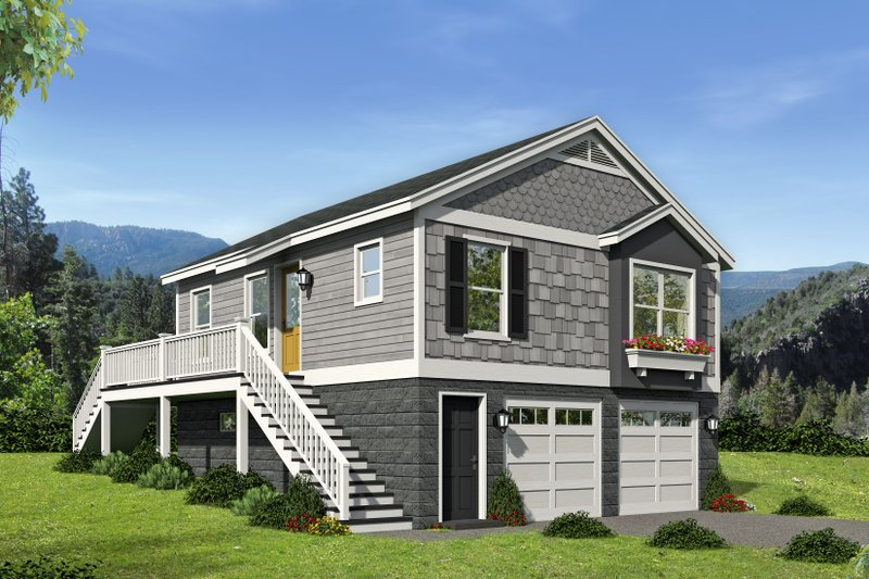 Home Plan - Country Exterior - Front Elevation Plan #932-139
