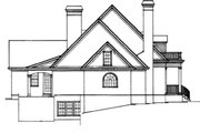 Classical Style House Plan - 4 Beds 3.5 Baths 3675 Sq/Ft Plan #429-16 Exterior - Other Elevation