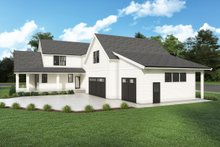Architectural House Design - Farmhouse Exterior - Other Elevation Plan #1070-132