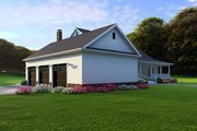 Farmhouse Style House Plan - 4 Beds 4 Baths 3474 Sq/Ft Plan #923-108 Exterior - Rear Elevation