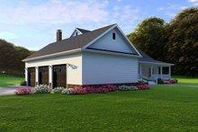 Farmhouse Exterior - Rear Elevation Plan #923-108