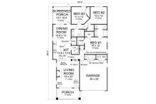 Bungalow Floor Plan - Main Floor Plan Plan #513-2085