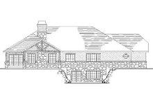 House Plan Design - Traditional Exterior - Rear Elevation Plan #5-255