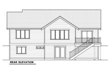 Dream House Plan - Craftsman Exterior - Rear Elevation Plan #1070-17