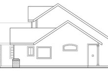 Traditional Exterior - Other Elevation Plan #124-347