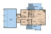 Farmhouse Style House Plan - 3 Beds 3 Baths 2540 Sq/Ft Plan #923-173 Floor Plan - Main Floor