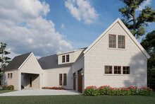 Architectural House Design - Modern Exterior - Rear Elevation Plan #923-198