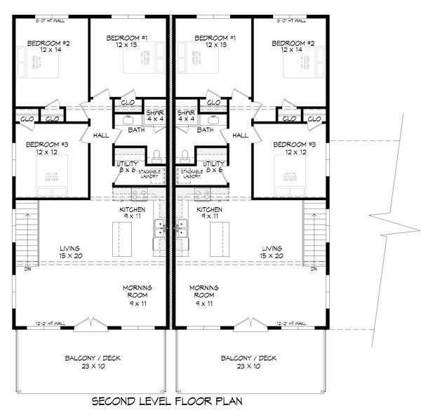 House Plan Design - Contemporary Floor Plan - Main Floor Plan #932-151