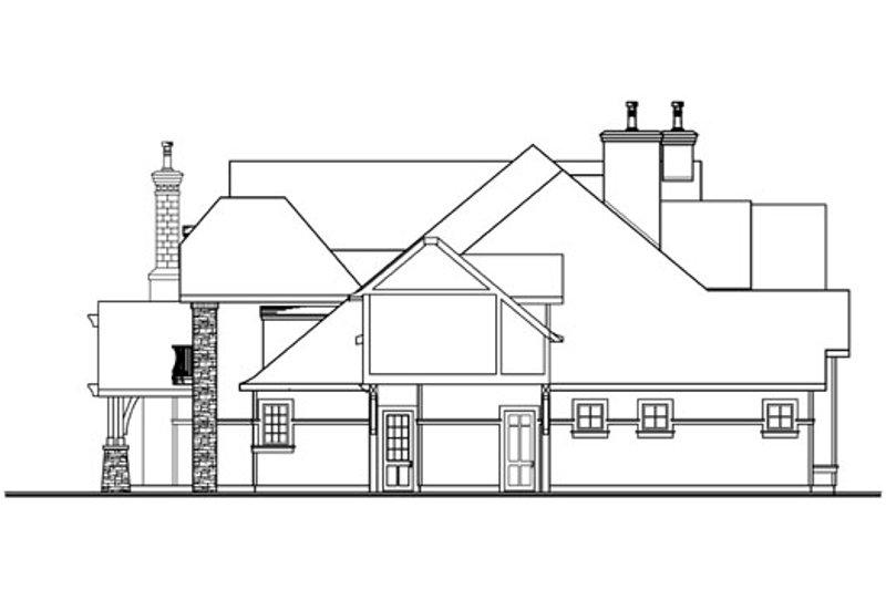 Craftsman Exterior - Other Elevation Plan #124-703 - Houseplans.com