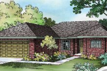 Dream House Plan - Traditional Exterior - Front Elevation Plan #124-256