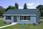 Traditional Style House Plan - 2 Beds 1 Baths 864 Sq/Ft Plan #116-178 Exterior - Front Elevation