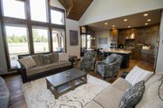Craftsman Style House Plan - 3 Beds 4.5 Baths 2536 Sq/Ft Plan #892-11 Interior - Family Room