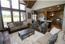 House Design - Craftsman Interior - Family Room Plan #892-11
