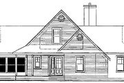 Traditional Style House Plan - 3 Beds 2 Baths 1832 Sq/Ft Plan #23-385 Exterior - Other Elevation