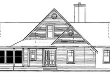 House Design - Traditional Exterior - Other Elevation Plan #23-385
