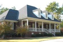 Dream House Plan - Country Exterior - Front Elevation Plan #1054-75