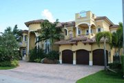 Mediterranean Style House Plan - 5 Beds 7.5 Baths 6679 Sq/Ft Plan #420-192 Photo