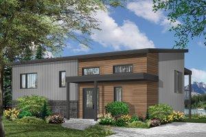 Modern Exterior - Front Elevation Plan #23-2674