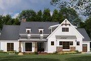 Country Style House Plan - 4 Beds 2.5 Baths 1897 Sq/Ft Plan #923-131 Exterior - Front Elevation