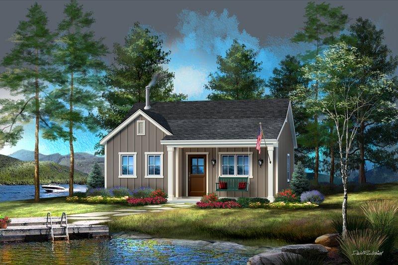 House Plan Design - Cabin Exterior - Front Elevation Plan #22-618