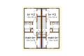 Southern Style House Plan - 4 Beds 2.5 Baths 1736 Sq/Ft Plan #79-276 Floor Plan - Upper Floor Plan
