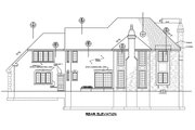 Traditional Style House Plan - 3 Beds 2.5 Baths 3327 Sq/Ft Plan #20-2300 Exterior - Rear Elevation