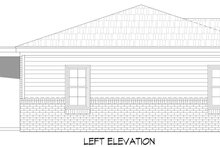 Traditional Exterior - Other Elevation Plan #932-306
