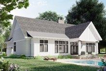 Home Plan - Farmhouse Exterior - Rear Elevation Plan #51-1169