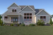Craftsman Style House Plan - 3 Beds 2.5 Baths 2260 Sq/Ft Plan #1070-70 Exterior - Rear Elevation