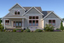 Dream House Plan - Craftsman Exterior - Rear Elevation Plan #1070-70