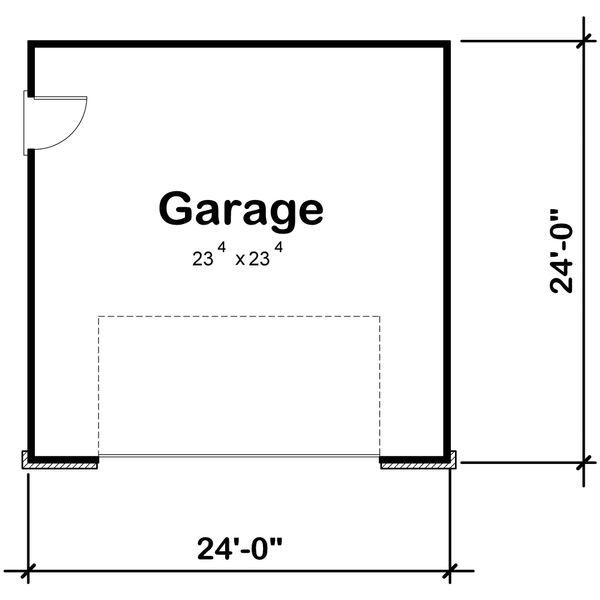 House Plan Design - Traditional Floor Plan - Main Floor Plan #20-2311