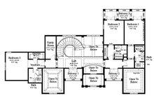Contemporary Floor Plan - Upper Floor Plan Plan #930-512