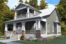 House Plan Design - Craftsman Exterior - Front Elevation Plan #63-380