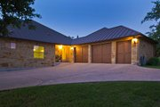 European Style House Plan - 3 Beds 3.5 Baths 3289 Sq/Ft Plan #80-192 Exterior - Other Elevation