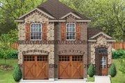 European Style House Plan - 3 Beds 2.5 Baths 1625 Sq/Ft Plan #84-564