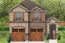 Home Plan - European Exterior - Front Elevation Plan #84-564
