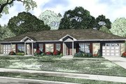 Ranch Style House Plan - 2 Beds 1 Baths 1904 Sq/Ft Plan #17-2448 Exterior - Front Elevation